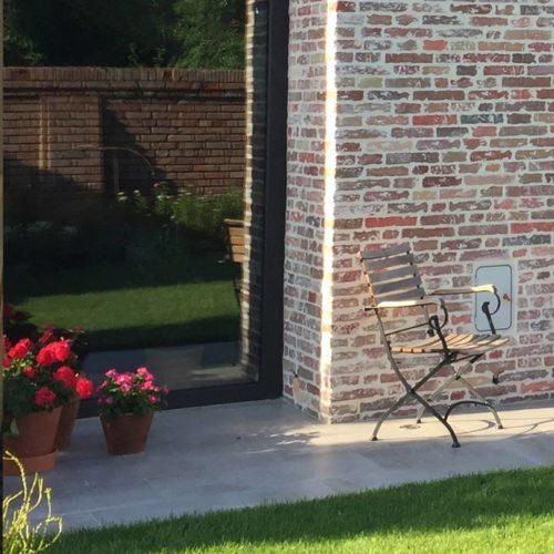 Ziegeloptik von BrigitteHome für Mauern/Zäune-Haussockel-Hauswände…